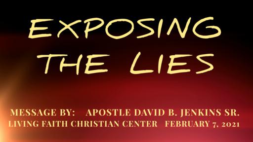 Exposing The Lies