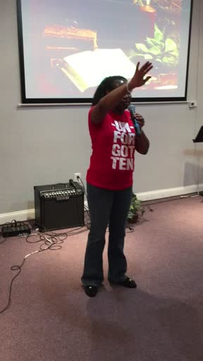 "GOD IS HERE - Yolanda ""Yani"" Lemon (REVIVAL FIRE)"