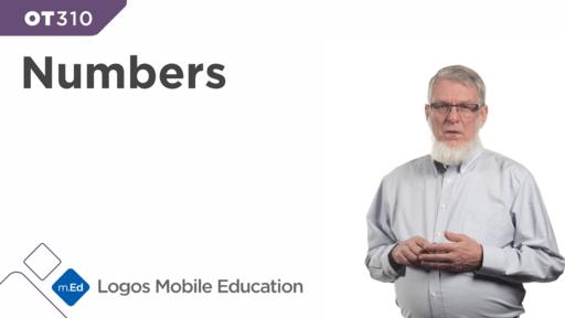 OT310 Book Study: Numbers