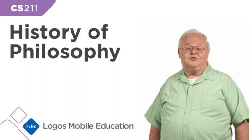CS211 History of Philosophy