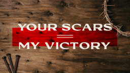 Your Scars, My Victory  PowerPoint image 1