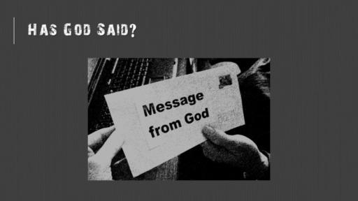 Has God Said 02.14.2021