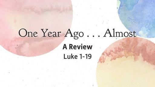 Sundy, Feb 14th 2021, A Survey of Luke