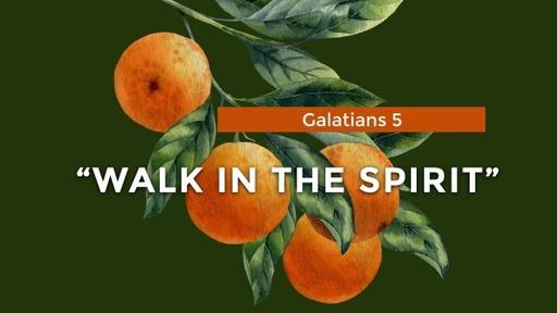 "Galatians 5 ""Walk in the Spirit"""