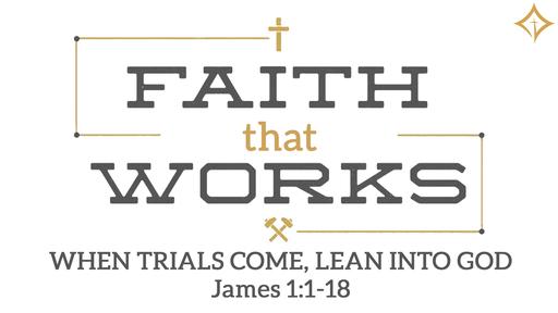 When Trials Come, Lean Into God.