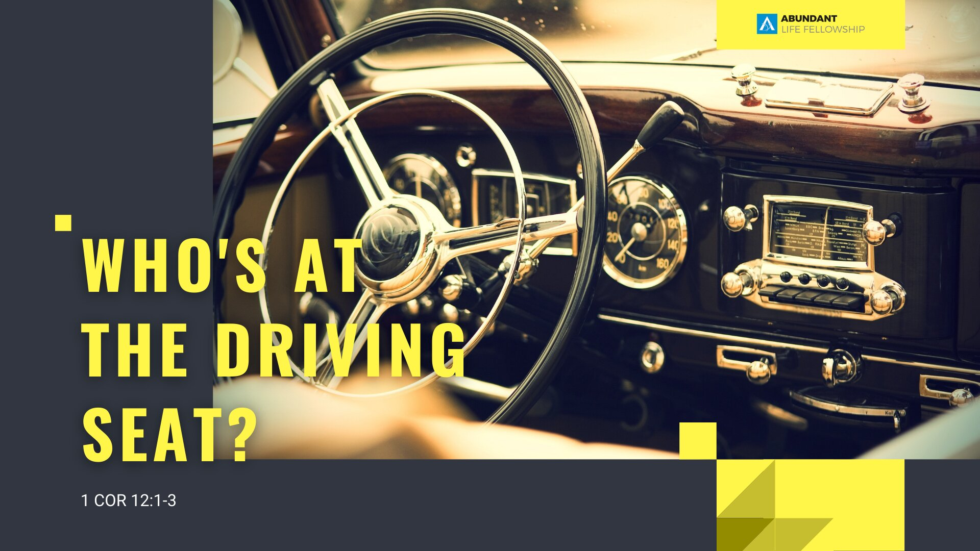 Who's behind the Wheel?