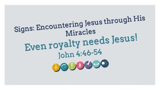 Signs: Encountering Jesus through His Miracles