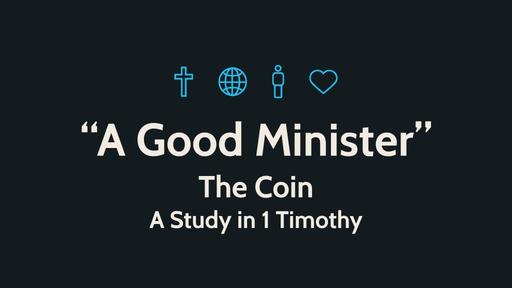 """A Good Minister"""