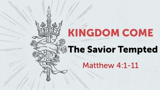 The Savior Tempted