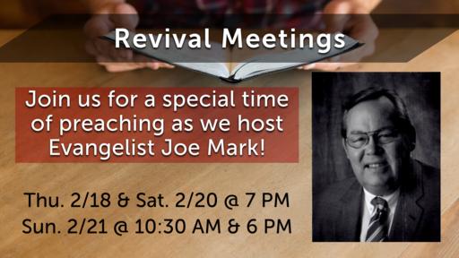 Feb. 2021 Revival Series