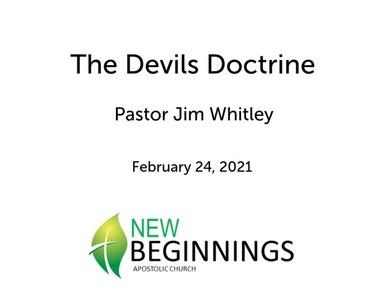 Sun 2/24 The Devils Doctrine