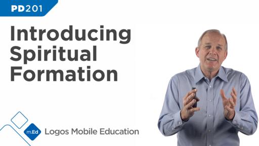 PD201 Introducing Spiritual Formation