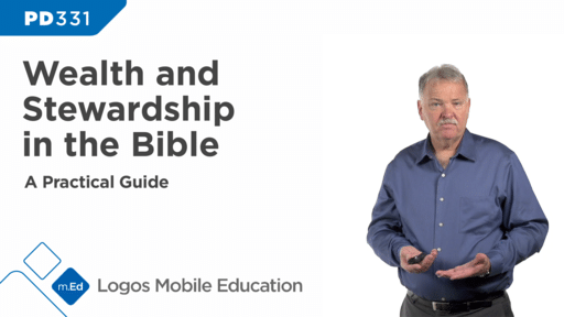 PD331 Wealth and Stewardship in the Bible (A Practical Guide)