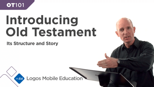 OT101 Introducing the Old Testament: Its Structure and Story
