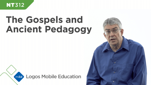 NT312 The Gospels and Ancient Pedagogy