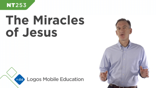 NT253 Miracles of Jesus