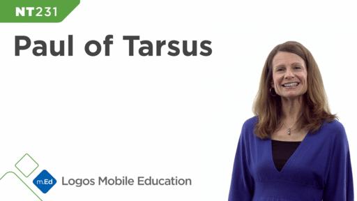 NT231 Paul of Tarsus