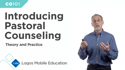 CO101 Introducing Pastoral Counseling I: Theory and Practice