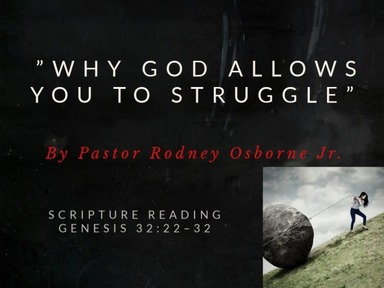 Why God Allows You to Struggle