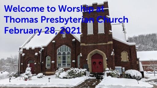 TPC Sunday Worship Service February 28, 2020