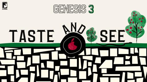 Taste and See: Genesis 3:10-13