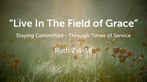 """""""Live In The Field of Grace"""""""