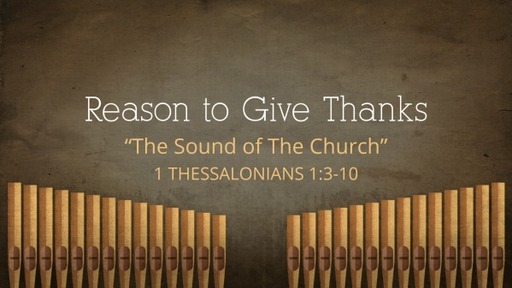 Reason to Give Thanks