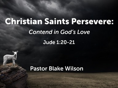 Contend in God's Love
