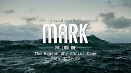 Bible Study on Mark 1:29-39