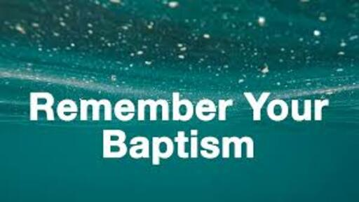 Renewing our Baptism and Renouncing Evil