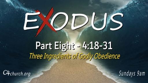 Exodus Part Eight, 4:18-31, Sunday February 28, 2021