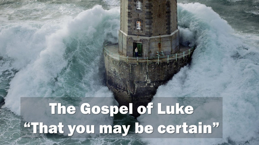 Luke 11:1-13 (Part 3) - Partial Sermon