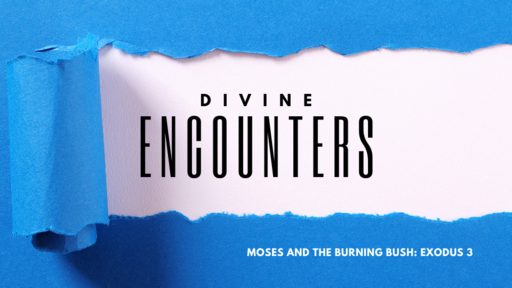 Encounters: Moses and the Burning Bush
