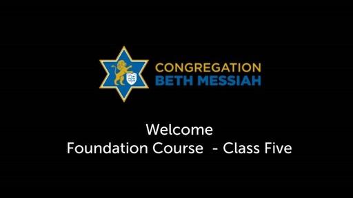NM Foundation Course (Spring 2021) - Class 5 ROSS