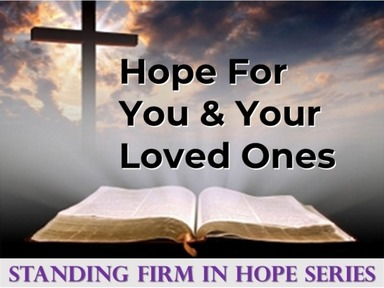 Standing Firm In Hope
