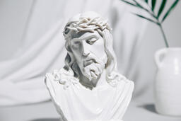 Bust of Jesus with Palm Branch  image 4