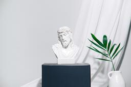 Jesus on pedestal  image 3