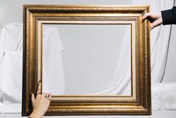 Empty Gold Frame  image 3