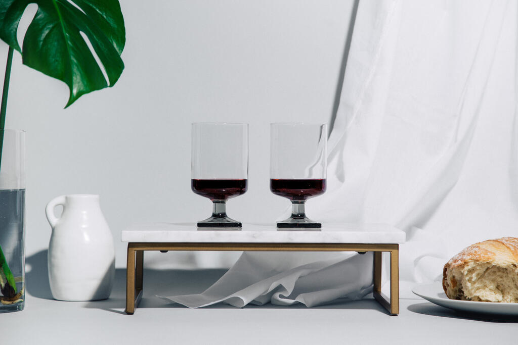 Torn Bread and Communion Wine large preview