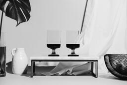 Two Glasses of Communion Wine with Bread  image 7