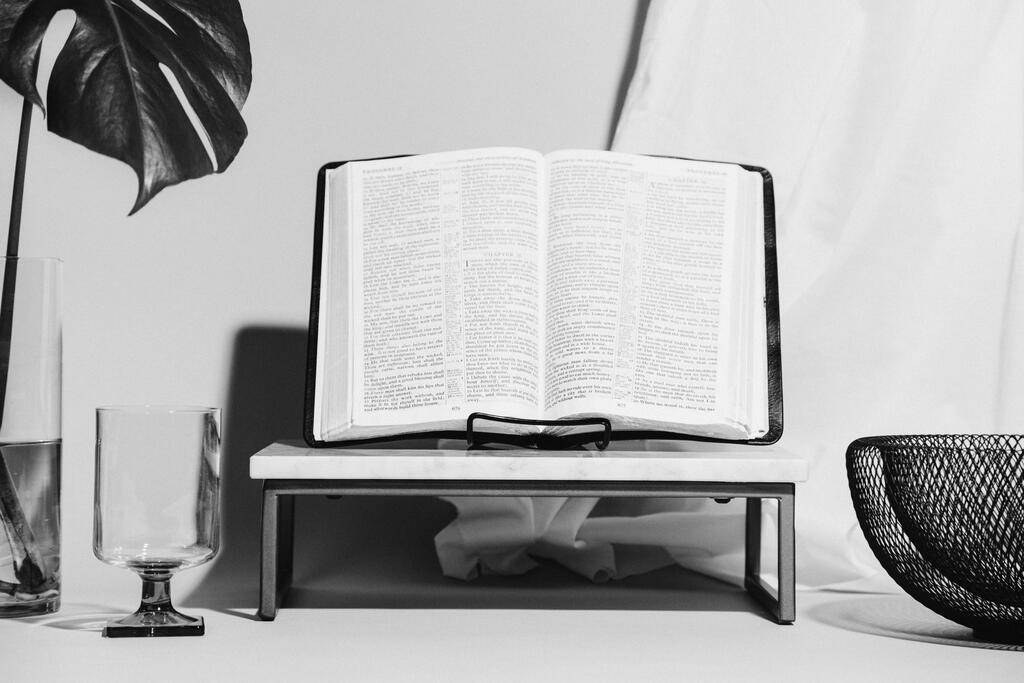 Bible on Stand for Communion large preview