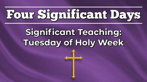 2021-03-10 - Lenten Midweek 4