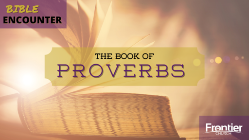 The Book of Proverbs - In the Face of Temptation, RUN! - 3/10/2021