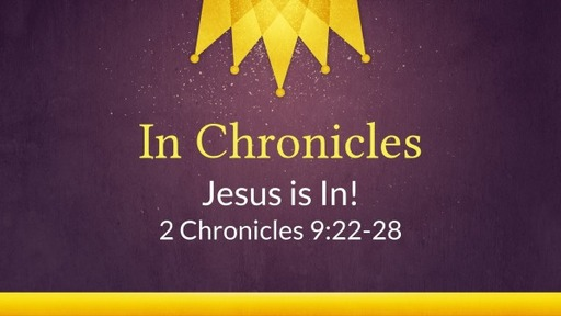 In Chronicles