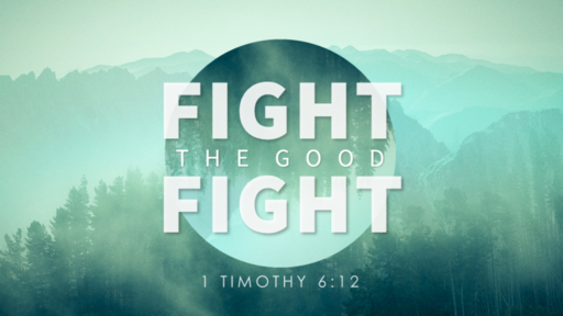 Fight The Good Fight! 1 Timothy,  2 Timothy and Titus