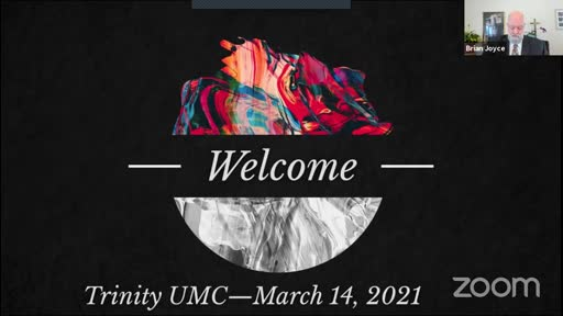 Sunday Worship—March 14, 2021