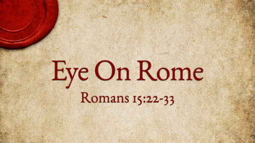Romans: Important Information Enclosed