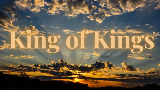 Palm Sunday 2020: The King
