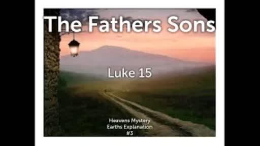 Parables #3 (Part 1) Luke 15:11-32
