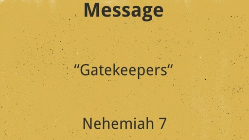 """""""Gate Keepers"""""""